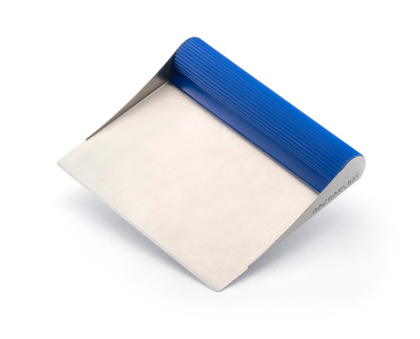 Rachael Ray Tools and Gadgets Stainless Steel Bench Scrape - Blue~51679