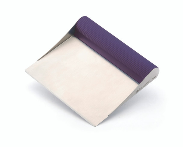 Rachael Ray Tools and Gadgets Stainless Steel Bench Scrape - Purple~56959