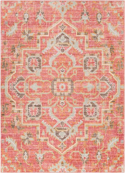 Germili Vintage Pale Pink and Blue Rug~GER2318