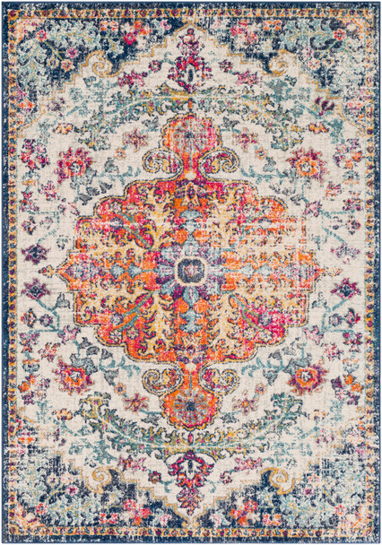Harput Tabriz Saffron and Gray Rug~HAP1000