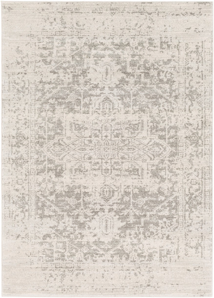 Harput Zig Zag Blue and Charcoal Gray Rug~HAP1024