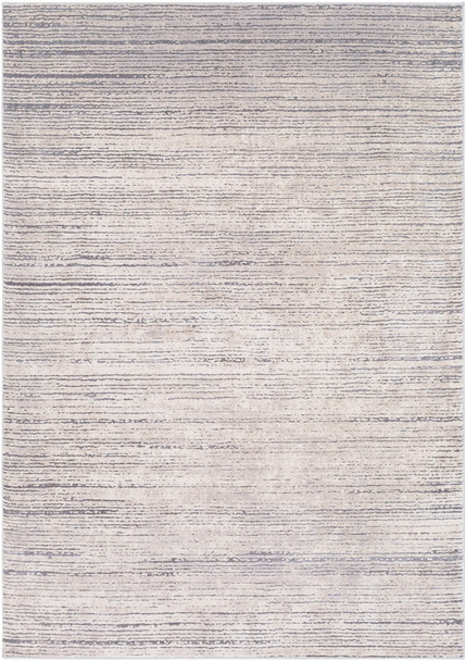 Tibetan Modern Stripe Gray and Taupe Rug~TBT2308