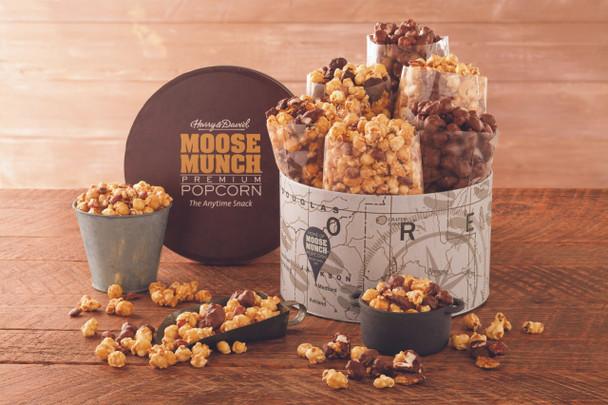 Deluxe Moose Munch Gourmet Popcorn Tin~16935G