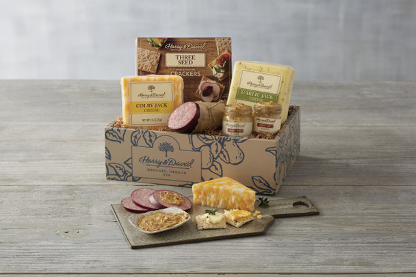 Classic Meat and Cheese Gift Box~24445X