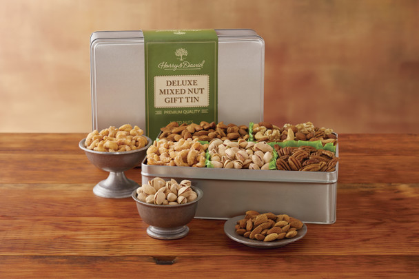 Deluxe Mixed Nuts Gift Tin~27195X
