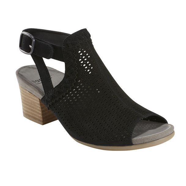 Ivy Syrah Soft Leather Sandal~Black*602723WBCK
