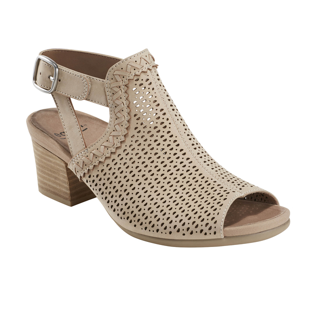 Ivy Syrah Soft Leather Sandal - Wide~Nude*602723WWBCK