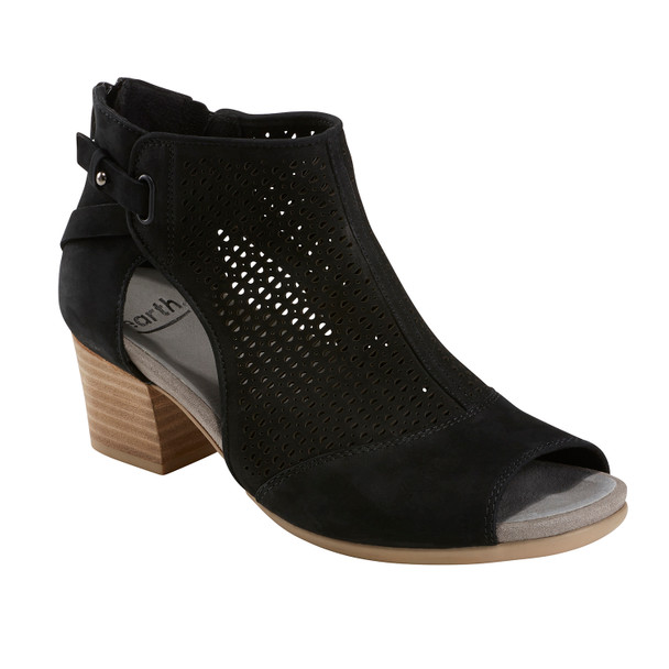 Ivy Sahara Soft Leather Sandal~Black*602726WBCK