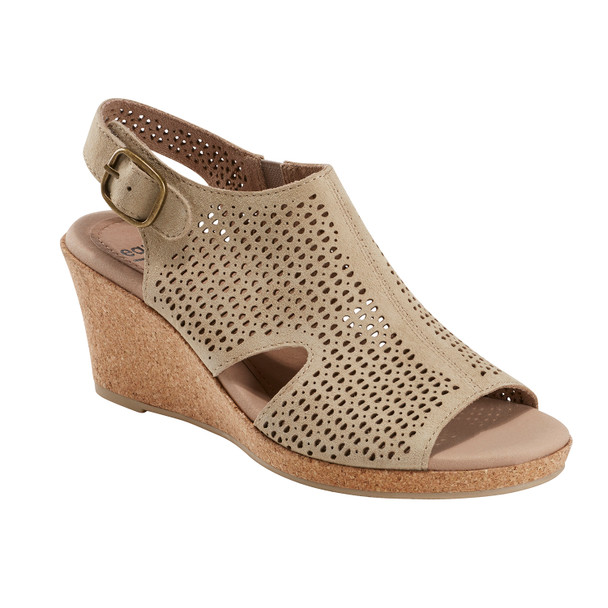 Woodland Radiant Nubuck Leather Sandal~Sand*602952WBCK