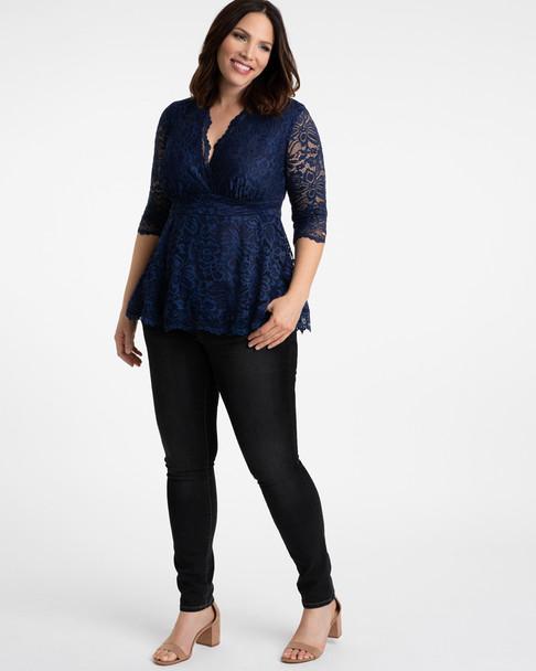 Kiyonna Women's Plus Size Linden Lace Top~21120905