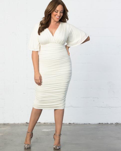 Kiyonna Women's Plus Size Paloma Ruched Dress~13181811