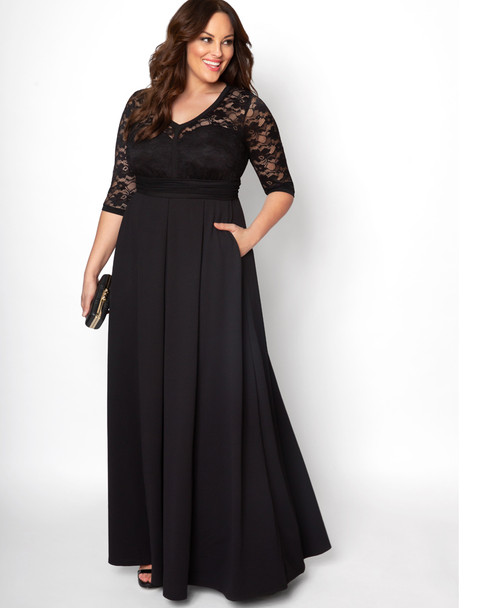 Kiyonna Women's Plus Size Madeline Evening Gown~13182606
