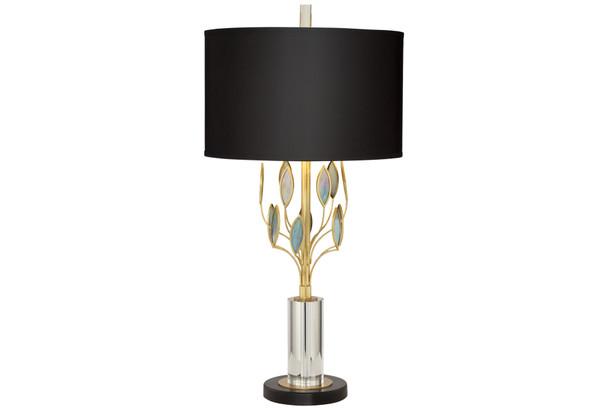 Golden Era Art Glass Table Lamp~1Y191