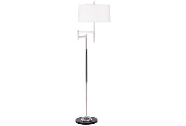 Stiletto Modern Swing Arm Floor Lamp~9D697