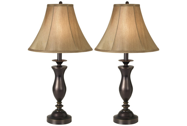 New England Village Table Lamps - Set of 2~87-1552-20