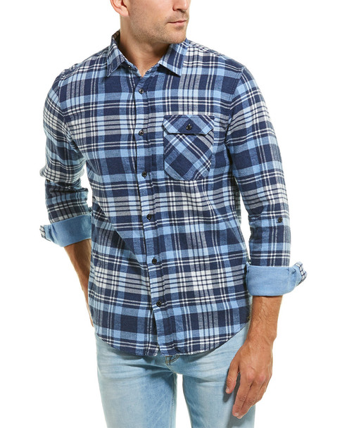 Scotch & Soda Relaxed Fit Brushed Woven Shirt~1010286522