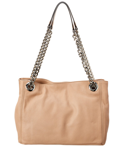 Valentino by Mario Valentino Luisa D Sauvage Studs Leather Shoulder Bag~11602254050000