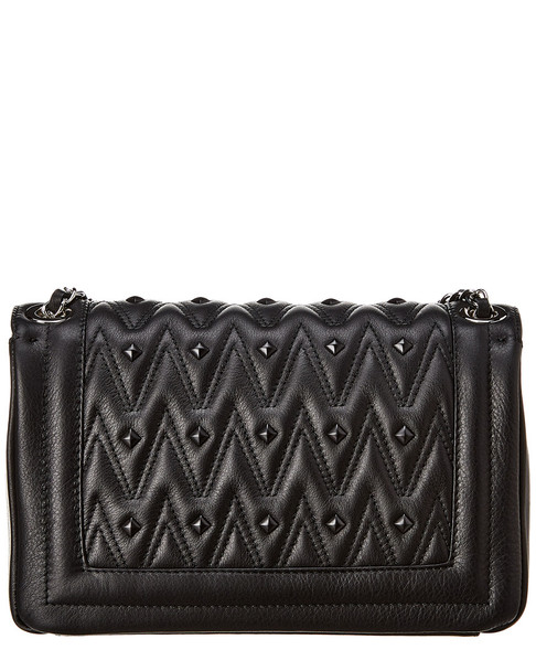Valentino by Mario Valentino Alice D Sauvage Studs Leather Shoulder Bag~11602254070000
