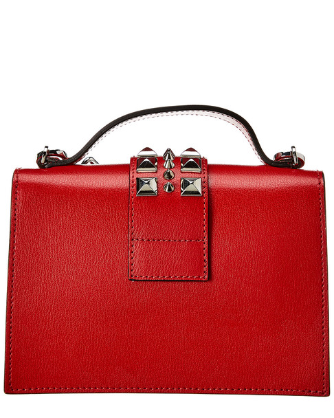 Valentino by Mario Valentino Titti Madras Leather Satchel~11602254700000