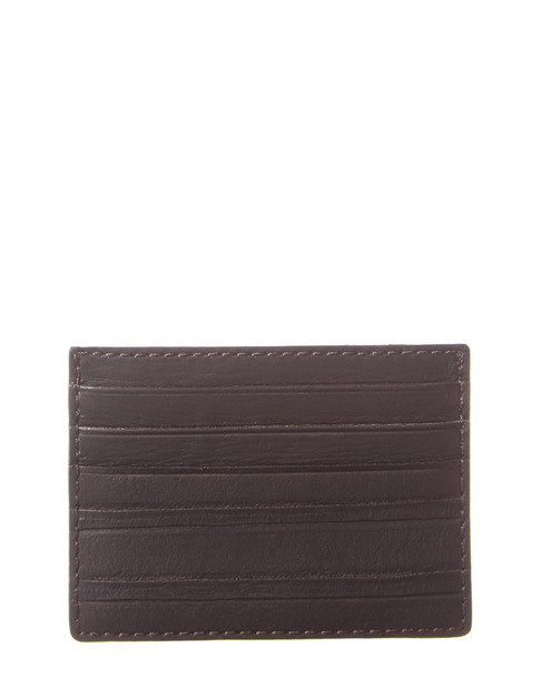 John Varvatos Star U.S.A. Clawed Textured Leather Card Case~11622682460000