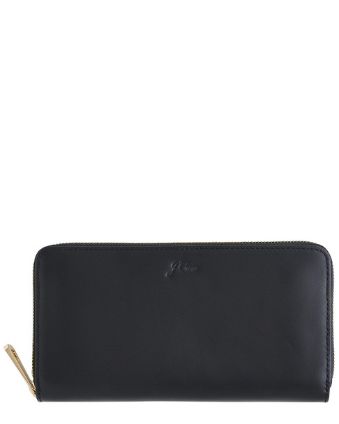 J.Crew Leather Continental Wallet~11622853900000