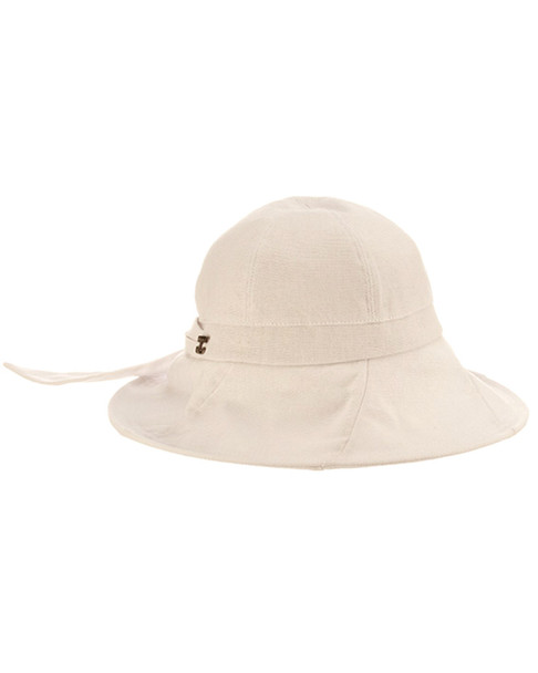 Brooklyn Hat Co Rough Cotton Hat With Bow~11712120460000