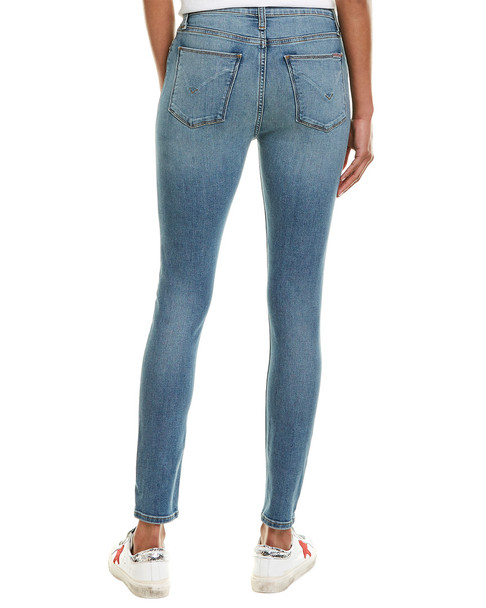 HUDSON Jeans Blair Breezy Blue High-Rise Skinny Leg~1411043866