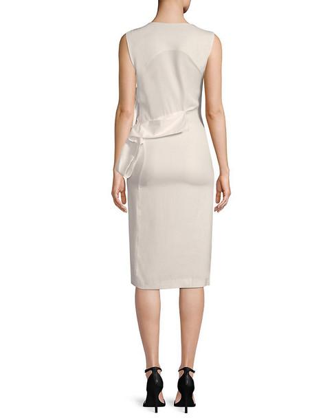 Few Moda Side-Tie Midi Dress~1411117857