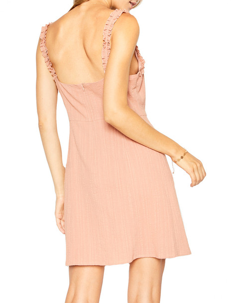 Sadie & Sage Linen-Blend Ruffled Dress~1411248866