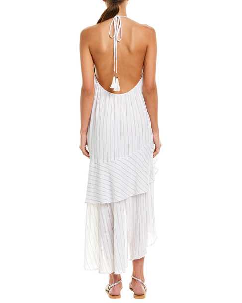 Suboo Halter Gauze Maxi Dress~1411269150