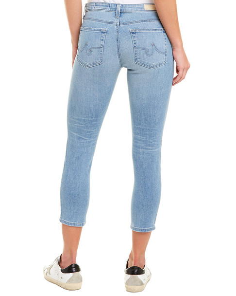 AG Jeans The Prima 20 Years Ocean Cigarette Crop~1411282980