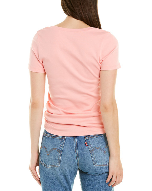 J.Crew 1x1 Ribbed Solid T-Shirt~1411285546