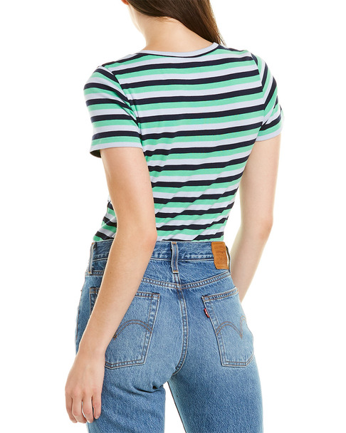 J.Crew 1x1 Ribbed Stripe T-Shirt~1411285551