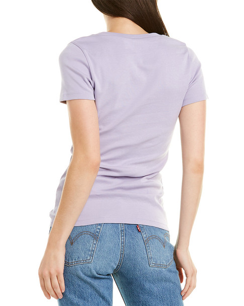 J.Crew 1x1 Ribbed Solid T-Shirt~1411285556