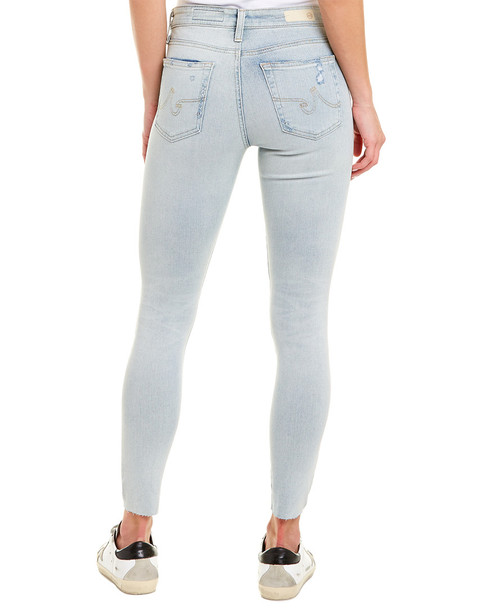 AG Jeans The Farrah 24 Years Sea Breeze High-Rise Skinny Ankle Cut~1411556290
