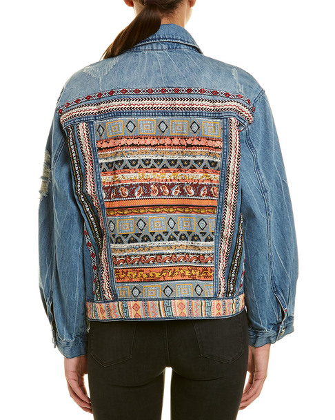 Etienne Marcel Patch Detailed Denim Jacket~1411557738