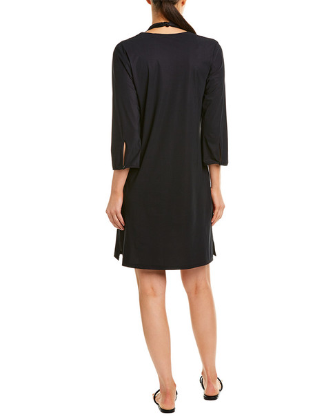 Gottex Lace-Up Cover-Up Dress~1411640784
