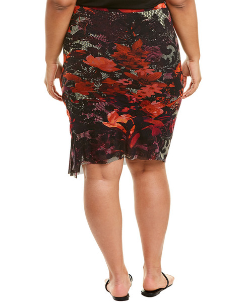 Fuzzi Plus Pencil Skirt~1411796528