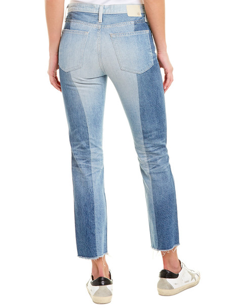 AG Jeans Isabella 21 Years Illusion High-Rise Straight Crop~1411819951