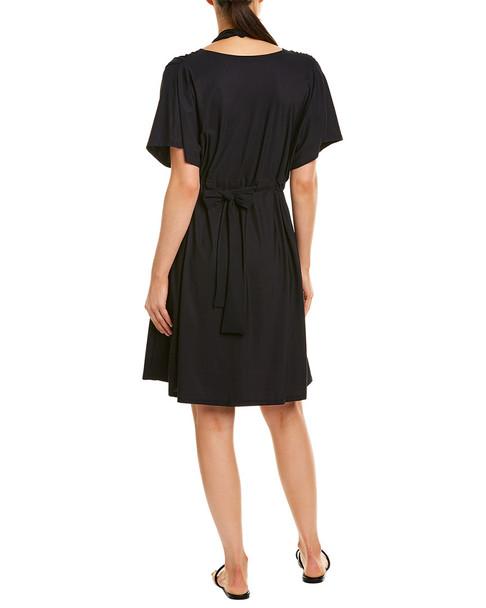 Gottex Lattice Tie-Waist Cover-Up Dress~1411971047