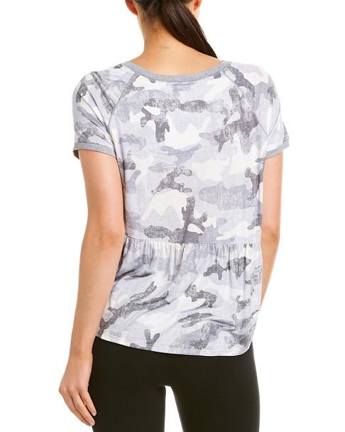 Kensie Camo Pajama Top~1412732810
