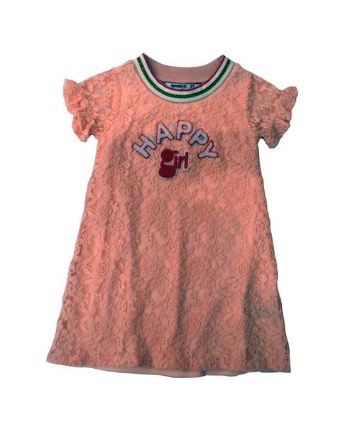 Kensie Girl Sporty Lace Dress~1511243890