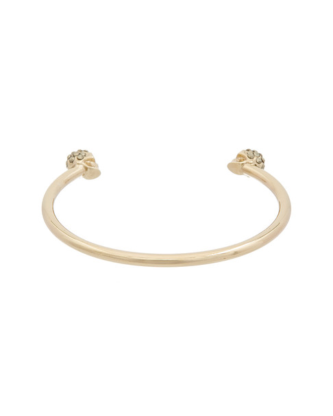 Alexander McQueen Twin Skull Crystal Bracelet~6020300328