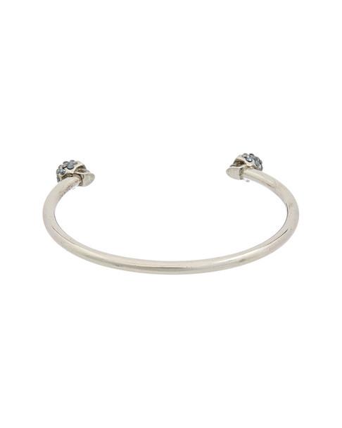 Alexander McQueen Twin Skull Crystal Bracelet~6020300330