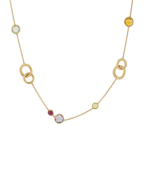 Marco Bicego Jaipur Color 18K Gemstone Necklace~60302342220000