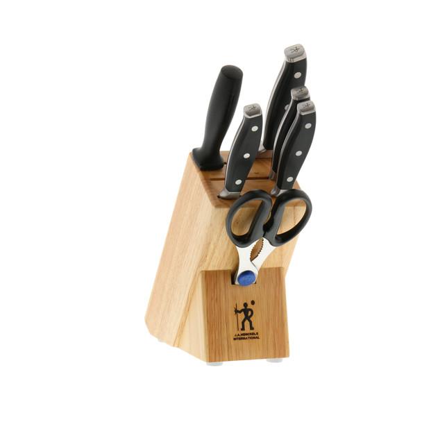HENCKELS Forged Premio 7-Piece Knife Block Set~16929-000