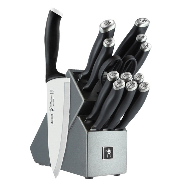 HENCKELS Silvercap 14-Piece Knife Block Set~13581-001