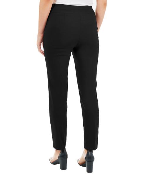 Split Waist Slim Fit Pants~Black Jubilant*MRNL0210