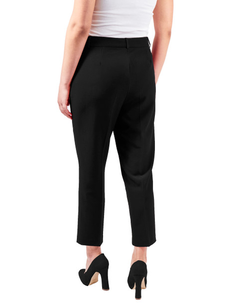 Ruffle Pocket Ankle Trouser~Black*MPZL0151