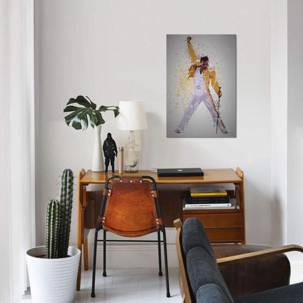 "iCanvas ""Freddie Mercury"" by TM Creative Design Canvas Print~TCD54-1PC3"